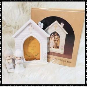 Precious Moments Picture frame NIB vintage 80's